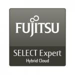Logo Fujitsu select expert hybrid cloud