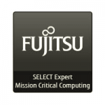 Logo Fujitsu select expert mission critical computing