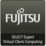 Logo Fujitsu select expert virtual client computing