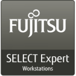 Logo Fujitsu select expert workstations