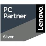 Logo Lenovo pcpartner silver