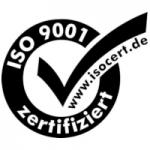 Logo ISO 9001 zertifiziert