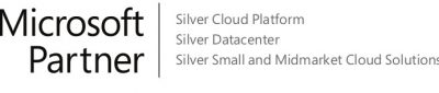 Logo Microsoft Silver Cloud, Datacenter, Small and Midmarket CloudSolutions