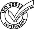 Logo DIN EN ISO 9001:2015